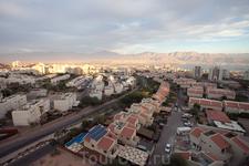 Панорама Эйлата с крыши фабрики