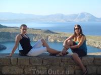 Вид на море с Акрополя.