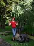 Я и кактус на берегах Атитлана
