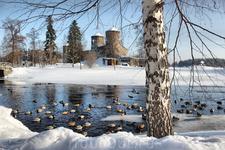 крепость Olavinlinna