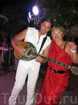 С греческим музыкантом
