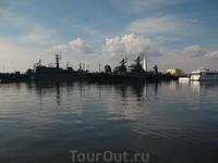 Порт в Кронштадте