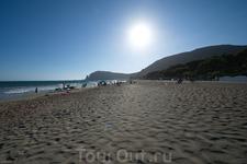 Морское побережье у Террачины. Пляж