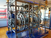 Музей техники, часовой механизм