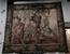 Тонкая работа мастеров, производивших гобелены, заставляет надолго остановиться, рассматривая эти тканые картины.