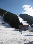 Лыжников всё меньше