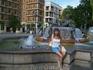 Площадь Святой Девы, фонтан, символиз  реку Турию с  7 протоками (девы),