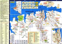 Карта Севастополя по районам