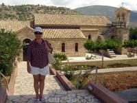 Греция. о.Кефалония. Монастырь Святого Апостола Андрея.Основан в византийскую эпоху и восстановлен в 1579 году