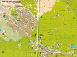 Карта Железноводска для туристов