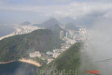 Рио-де-Жанейро. Пляж Прайя-Вермелья