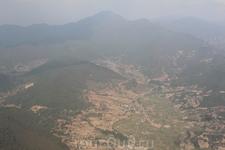 Подлетаем к Непалу