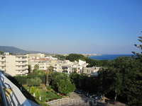 Эгейское море и побережье. Поселок Ялиссос, Иксия, о.Родос.
