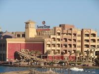 Один из отелей в Хургаде