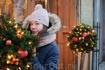 Рождественские цветы старой Риги