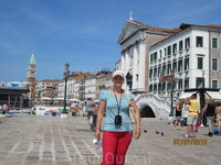 На причале в Венеции