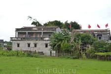Дялоу — некитайские китайские дома
