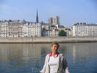 На набережной Сены