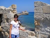 Вид на Средиземное море и Ветрянные мельницы