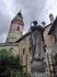 Готическая башня Малого замка, символ города, имеет шесть ярусов, на четвертом – колокольня, на пятом – аркадная галерея. На шестом ярусе расположены часы ...