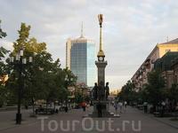 Челябинск. Пешеходная Кировка