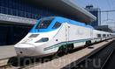 Высокоскоростной поезд Talgo 250 (Испания). Маршрут Ташкент - Самарканд. Первая в Центральной Азии высокоскоростная железная дорога.