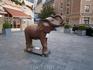 шоколадный слоник