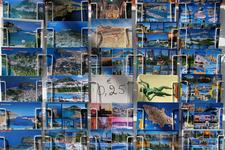 открытки в сувенирной лавке Линдоса