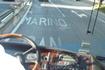 Надпись  на  асфальте по  трассе  говорит  сама  за  себя. Впереди -  Сан-Марино!