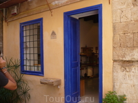 Ярко- синий цвет- визитная карточка Греции.