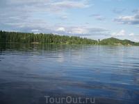 Просторы финских озер