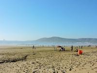А вот так выглядит пляж Агадира...