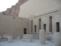 территория Храма царицы Хатшепсут
