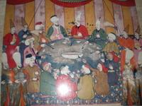 Султанская трапеза. Роспись на кухне в Топкапи.