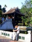 Ханой - Пагода, ну вы уже догадались... на Одном Столбе