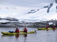 Каякинг в антарктических водах