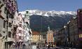 Инсбрук -  город в рамке из гор