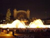 Прага, поющие фонтаны