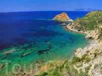 Море в провинции Гроссето имеет вот такой удивительный цвет