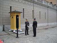 Смена караула у королевкого дворца