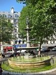 Один из фонтанов Парижа