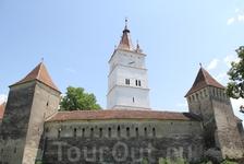 церковь крепость в городе Прежмер
