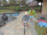 Катались на велосипеде