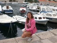 Пристань в Старом Дубровнике