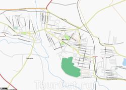 Карта Россоши