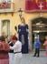 г. Бланес. В нем проходил какой то праздник, на главную площадь вынесли огромные фигуры, испанцы танцевали и веселились....