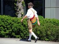 Житель Мюнхена в традиционном костюме