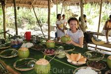 Филиппинский традиционный обед