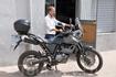Таким я впервые увидел свой мотоцикл. который заказал ещё из Новосибирска