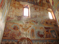 Роспись наверное западной стены